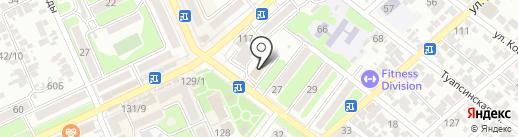 ЛЕТО БАНК на карте Армавира