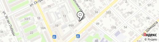 Тур-Шар на карте Армавира