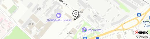 Олимп-93 на карте Армавира