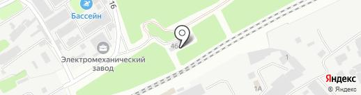 Знак на карте Армавира