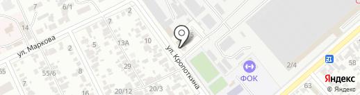 Пожарная часть №32 на карте Армавира