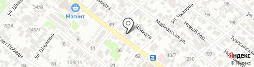 СПСР-ЭКСПРЕСС на карте Армавира