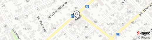 Мегаполис на карте Армавира