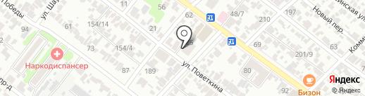 Почтовое отделение №24 на карте Армавира