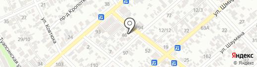 Ева на карте Армавира
