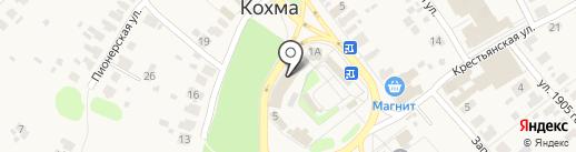 Мамин Рай на карте Кохмы