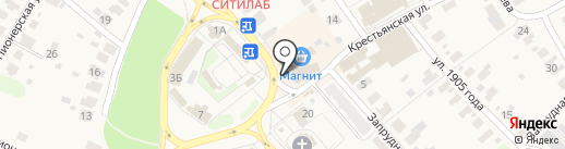 Фокус на карте Кохмы