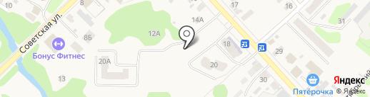 Старый Парк на карте Кохмы