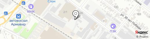 ГлавДоставка на карте Армавира