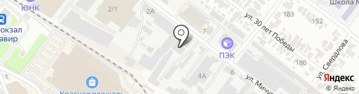 DORPEX на карте Армавира