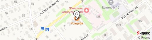 Усадьба на карте Кохмы