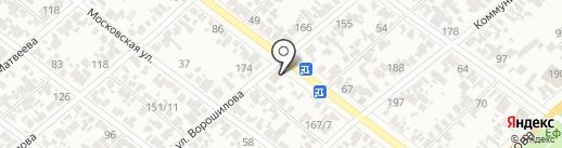 Компьютер-сервис на карте Армавира