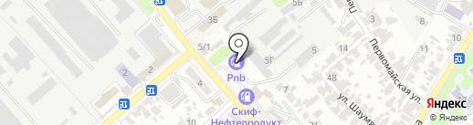 ТРИКоптом на карте Армавира