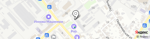 Горячеключевская мебельная фабрика на карте Армавира