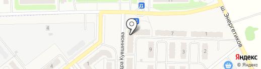 Совёнок на карте Кохмы