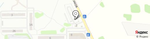 Техлайн на карте Иваново