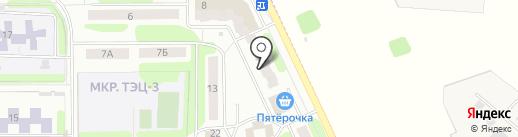 Городская библиотека №21 на карте Иваново