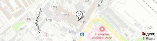 Лотос-Лэнд Бевериджиз на карте Армавира