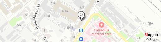 Маленькая Прага на карте Армавира