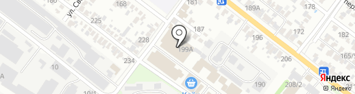 У Клена на карте Армавира