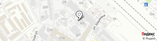 1-я мебельная фабрика на карте Армавира