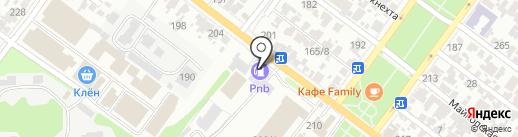АЗС PNB на карте Армавира