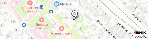 Гарант на карте Армавира