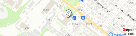 Звездочки на карте Армавира