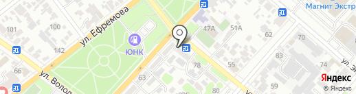 Краснодарский фонд сбережений, КПК на карте Армавира