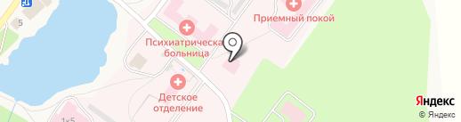Отдельный пост Пожарной части №1 на карте Никольского