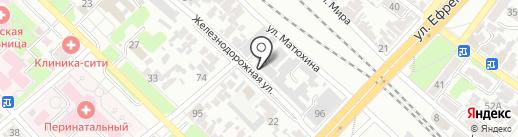 Армавир-Логистик на карте Армавира