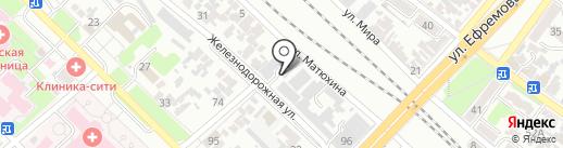 Промтехэнерго на карте Армавира
