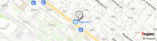 Маркер на карте Армавира