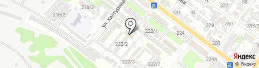 Военная комендатура Армавирского гарнизона на карте Армавира
