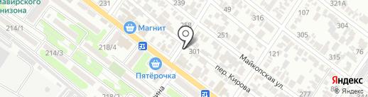 Металлобаза на карте Армавира