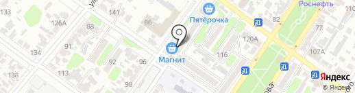 Эконом на карте Армавира