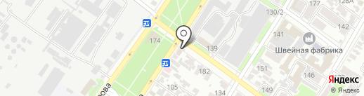 Пицца-Стаканчик на карте Армавира