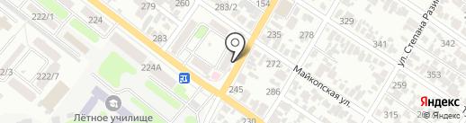 Почтовое отделение №15 на карте Армавира