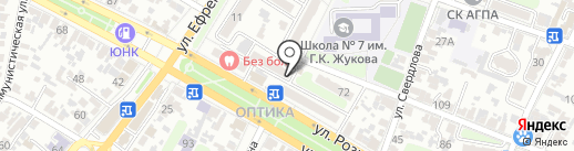 Уголовно-исполнительная инспекция УФСИН России по Краснодарскому краю на карте Армавира