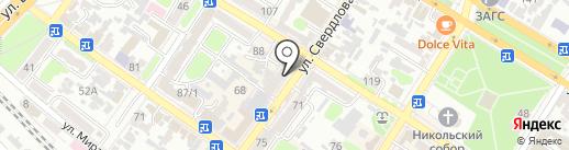 Ракмаркет на карте Армавира