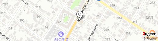 Армавир на карте Армавира