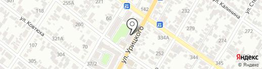 ЖСК №1 на карте Армавира