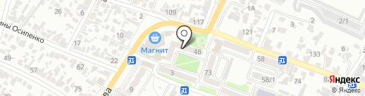 Конфетка на карте Армавира