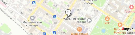 Lacbi на карте Армавира