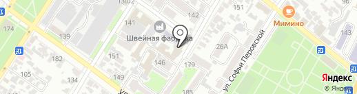 Doji на карте Армавира