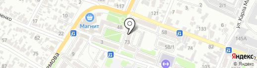 ТСЖ №44 на карте Армавира