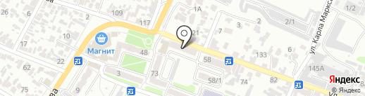 Беркут на карте Армавира