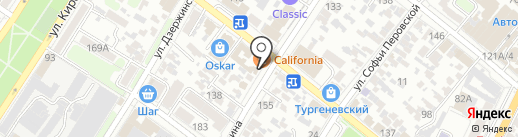 Едемский сад на карте Армавира