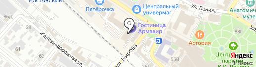 Hit Fm на карте Армавира