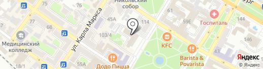Единая дежурно-диспетчерская служба г. Армавира на карте Армавира